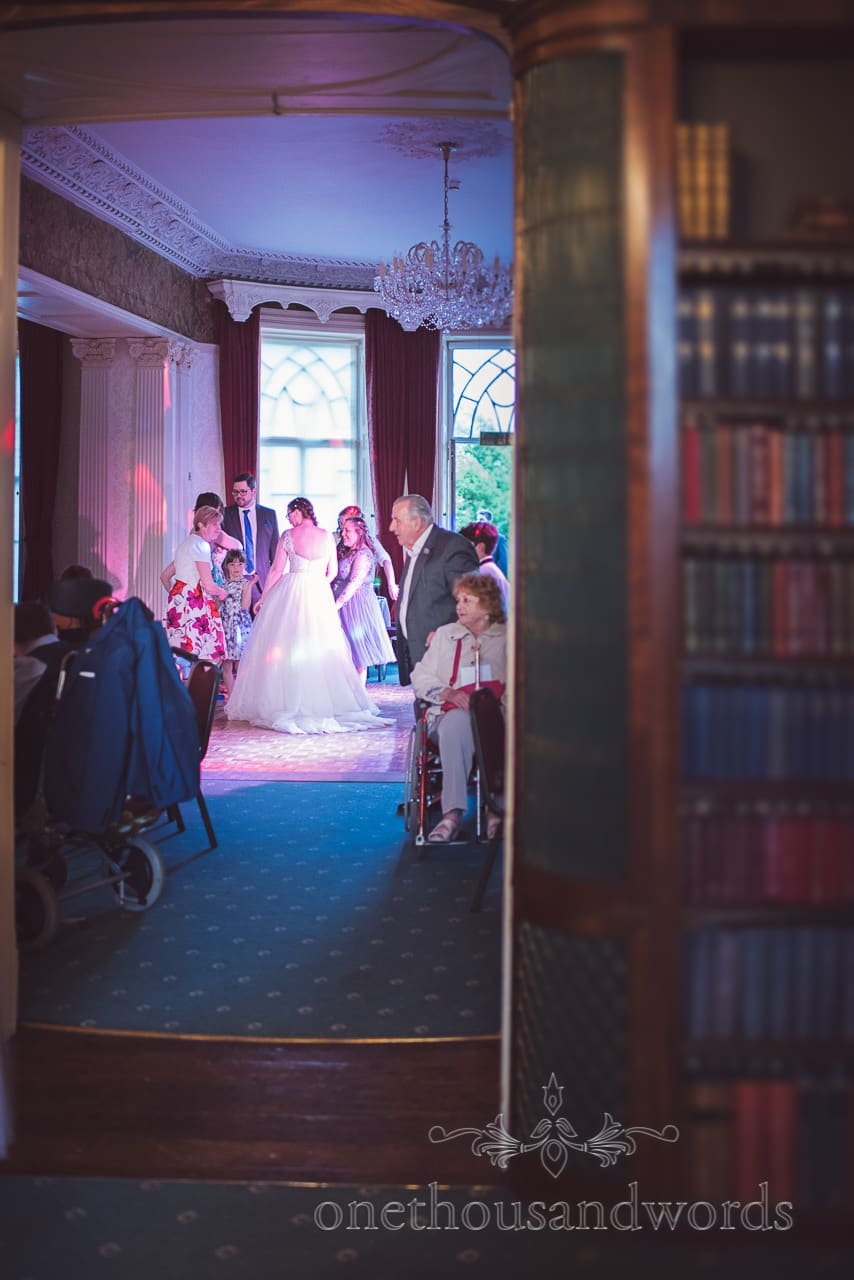 Wedding disco at Upton House Wedding Venue in Poole, Dorset