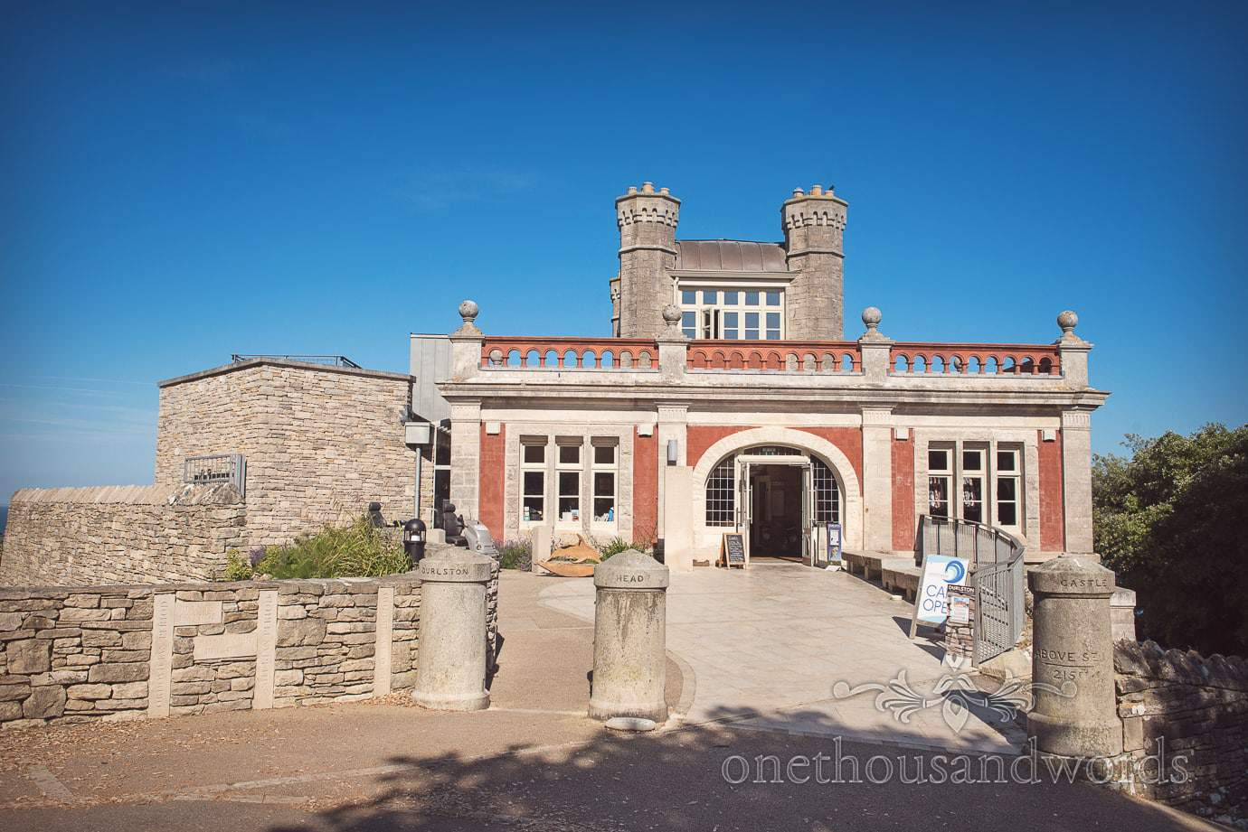 Swanage Wedding Photographers at Durlston Castle wedding venue in Dorset