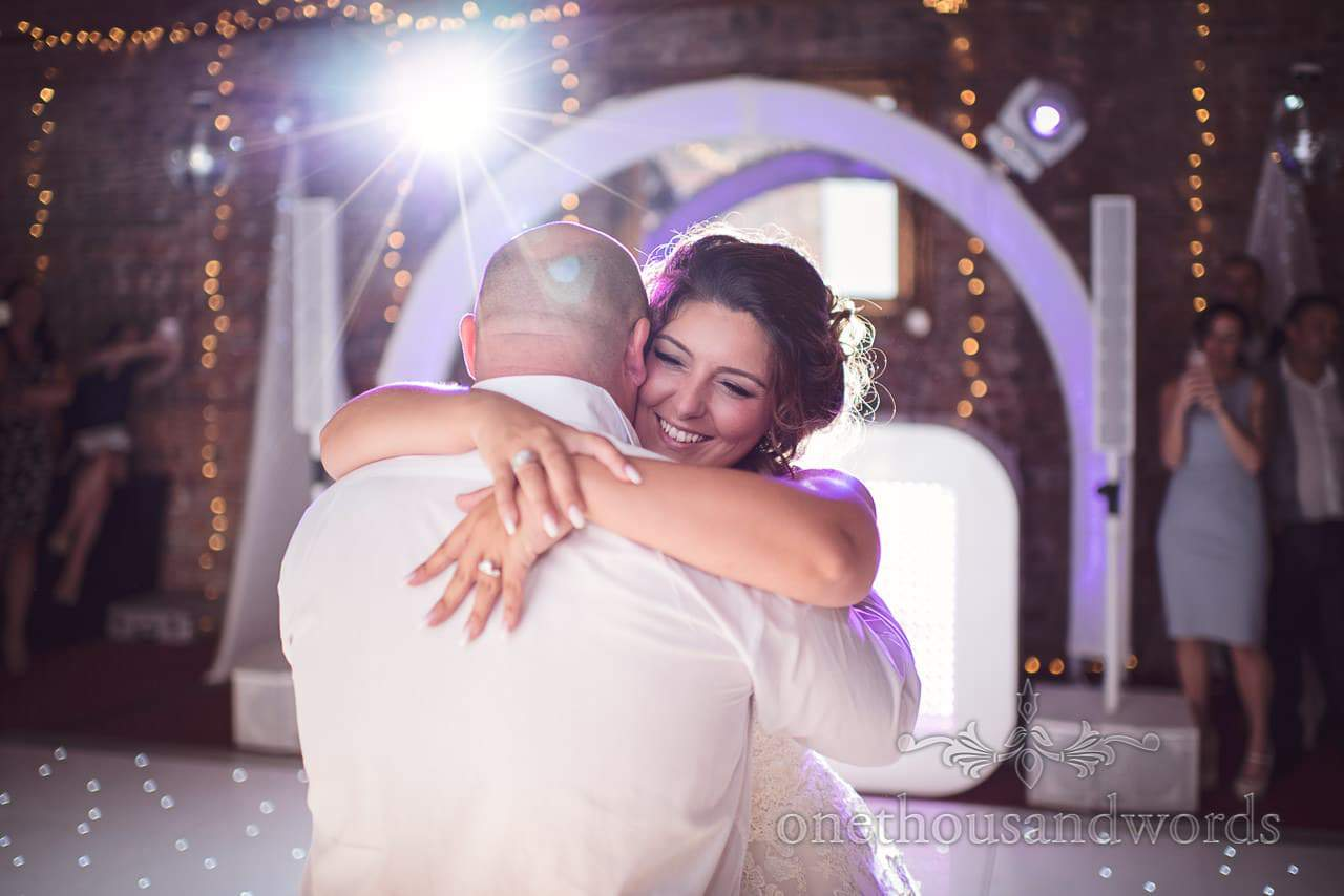 First dance from Highcliffe Castle Wedding Photographs by one thousand words
