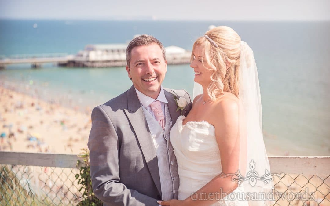 Bournemouth Highcliff Marriott Wedding Photographs with Louise & Lee