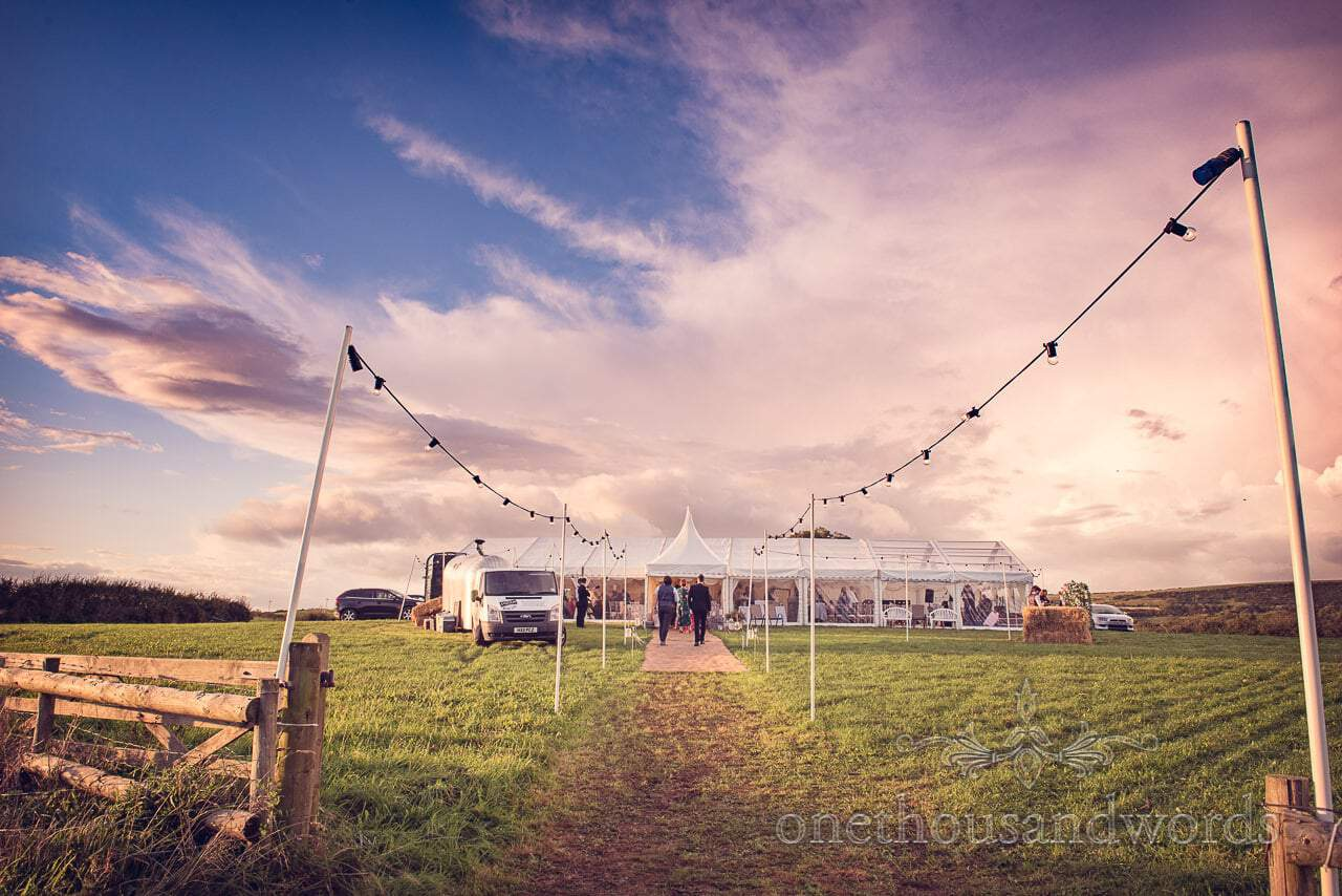 Purbeck Valley Farm wedding venue photographs