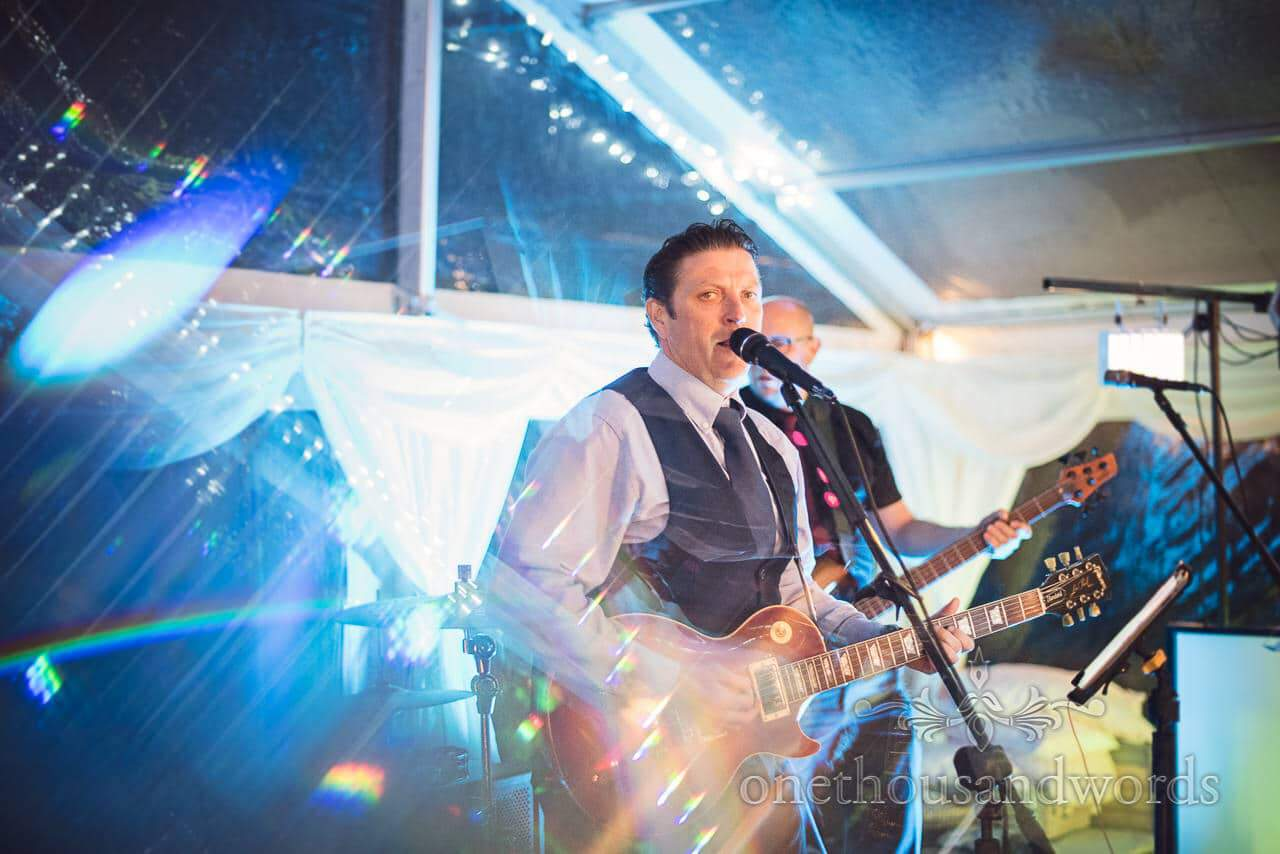 Wedding musician at Purbeck Valley Farm wedding photographs