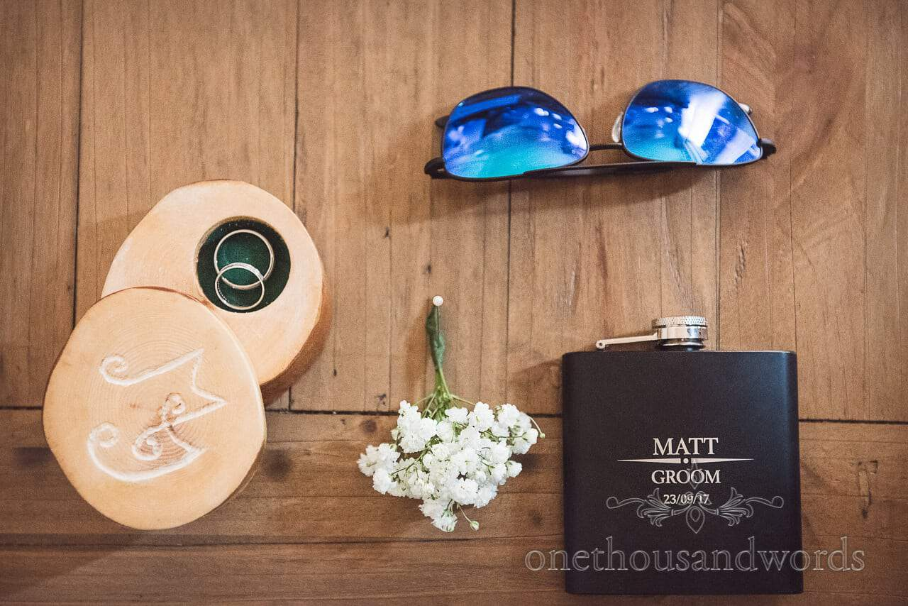 Grooms accessories with wedding rings from Grand Hotel Wedding Photographs