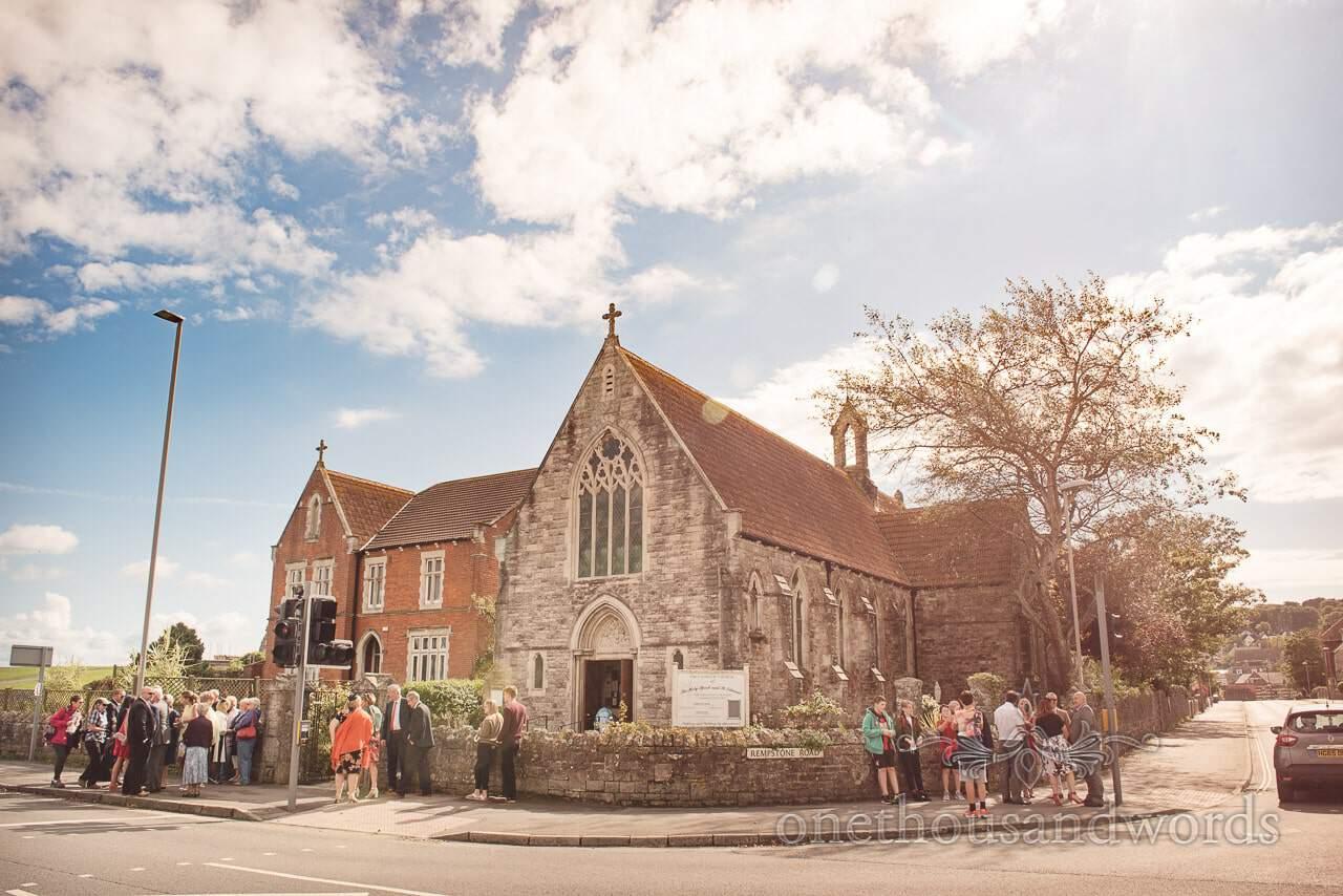 Swanage Catholic church from Dorset Wedding Photographers Wedding Photographs