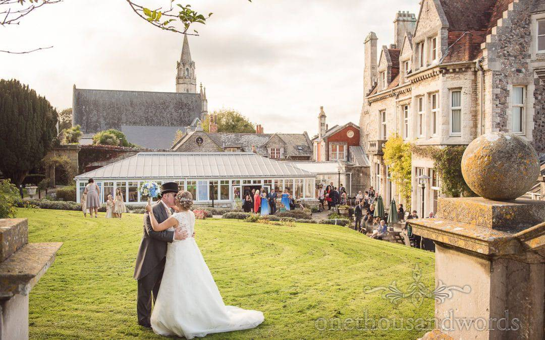 Purbeck House Hotel Wedding Photographs with Fiona and Aidey