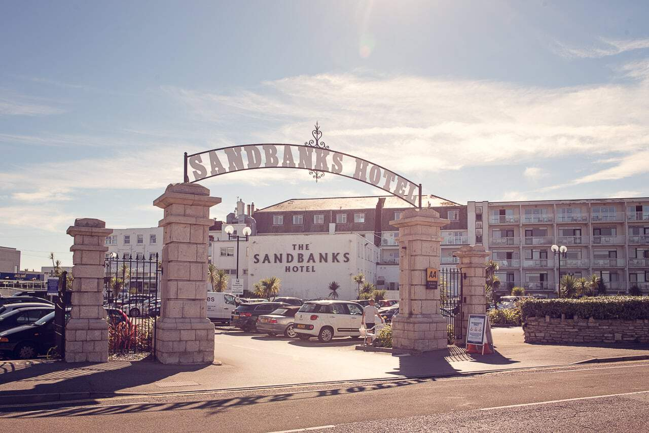 Sandbanks Hotel Wedding Photographers capture Sandbanks Hotel wedding venue