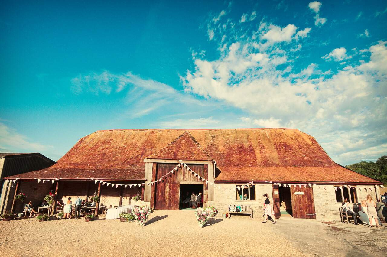 Stockbridge Farm Barn Wedding Venue in Dorset photographs