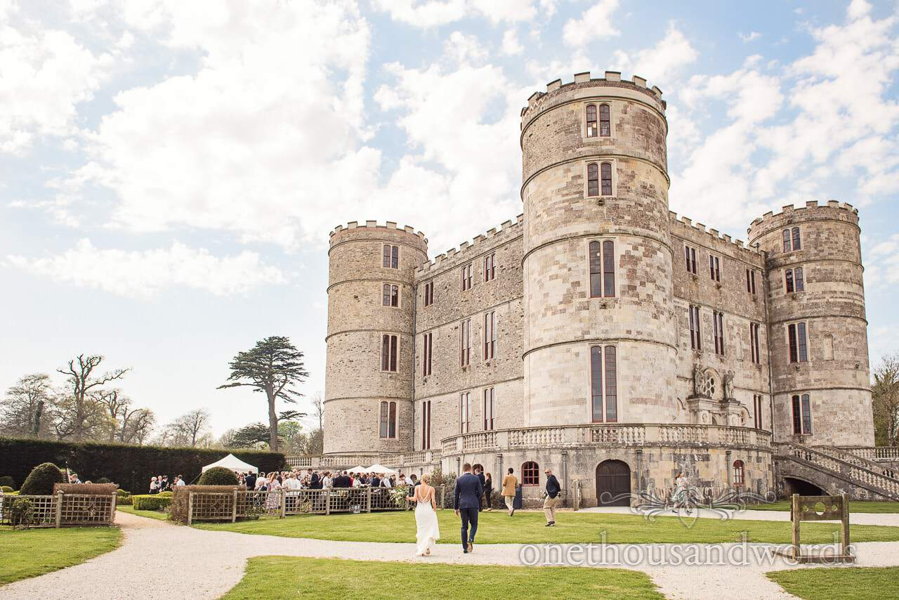 Lulworth Castle Wedding venue in Dorset by Lulworth Castle Wedding Photographers