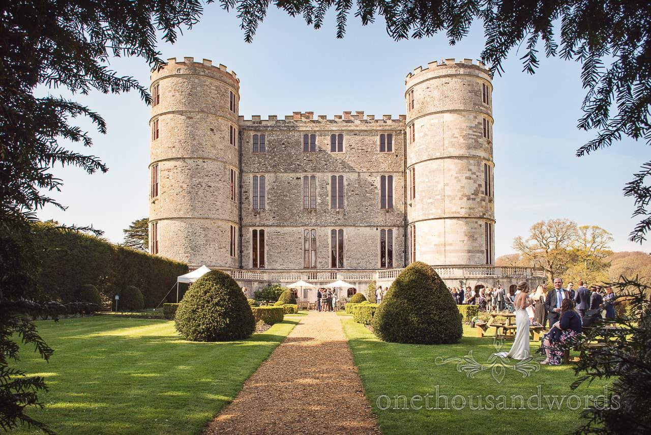 Lulworth Castle wedding venue in Dorset from Lulworth Castle Wedding Photos