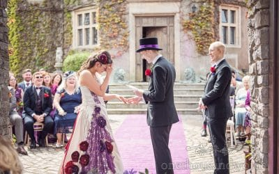 Rebbecca & Benjamin – Walton Castle Wedding Review