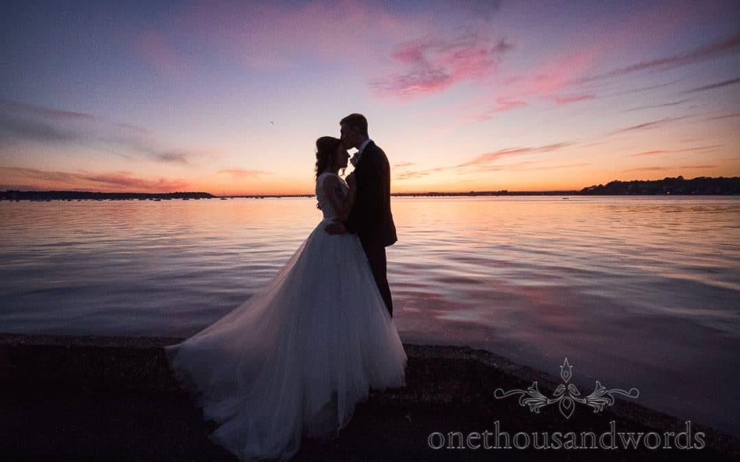 Swanage Wedding Photos at a Seaside Fun Themed Wedding
