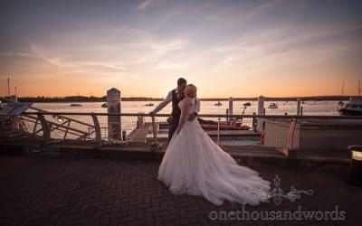 Kate & Matt – RNLI College Wedding Photography Review