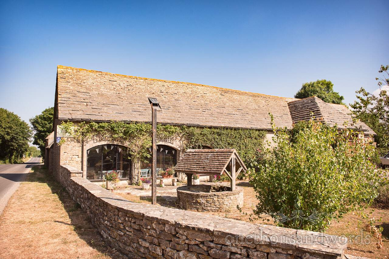 Hill top wedding venue Kingston Country Courtyard