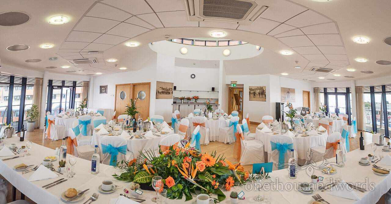 The Harbour View Suite at The RNLI College Wedding Venue in Poole, Dorset