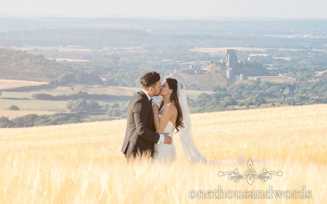 Country Courtyard Wedding in Dorset with Shelly and Colin