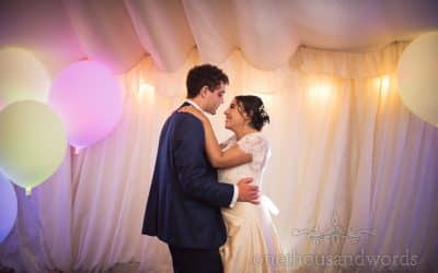 Dorset Garden Wedding Photographs with Farrah and Tom