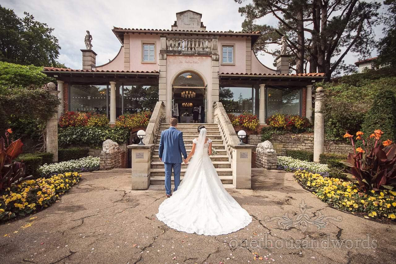 The Italian Villa Wedding Venue and gardens in Poole, Dorset