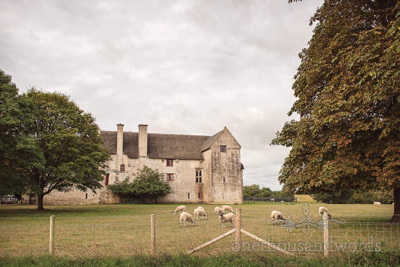 Woodsford Castle before Dorset Garden Wedding