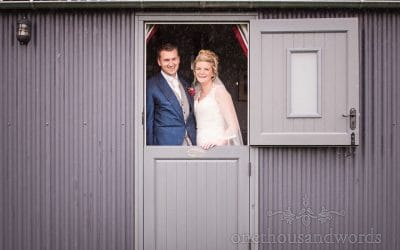 Farm Marquee Wedding Photos With Georgie and Tom