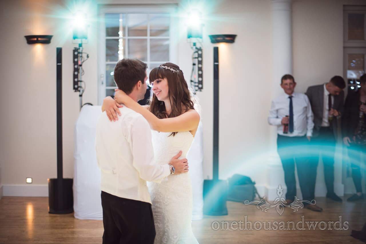 First dance photograph at Hethfelton House Wedding venue in Dorset