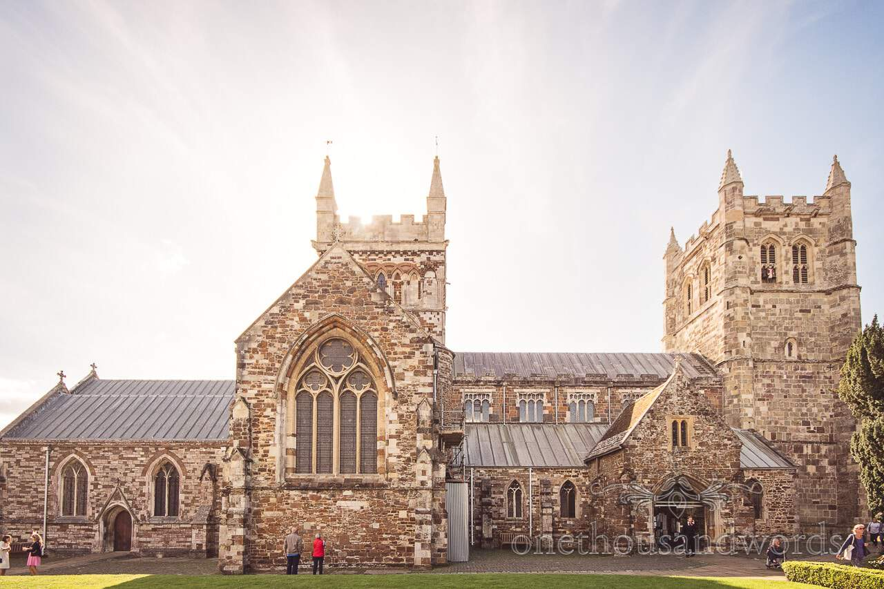 Wimborne Minster Christian wedding ceremony venue in Dorset