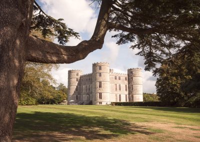 Lulworth Castle Wedding Venue in Dorset countryside by one thousand words