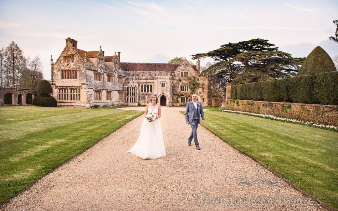 Athelhampton House Wedding Photographs with Victoria and Karl