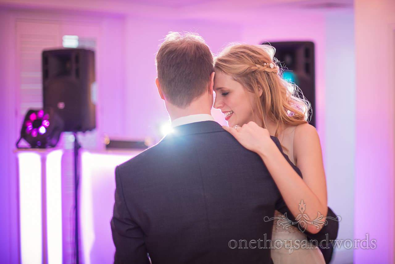 Kings Arms Wedding Photograph of First Dance with bride and groom by one thousand words wedding photography