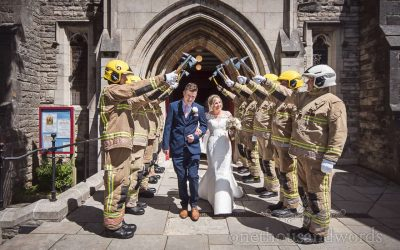 Carly & Chris's Golf Club Wedding Photographs Review