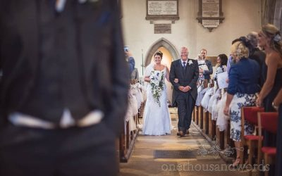 Verity & Terence's Purbeck Marquee Wedding Photographs Review