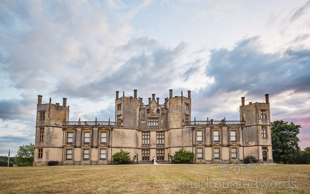 Sherborne Castle Wedding Photographs With Helen And Philippe
