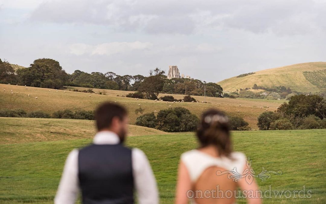 Purbeck Farm Marquee Wedding Photographs With Laura And Nathan
