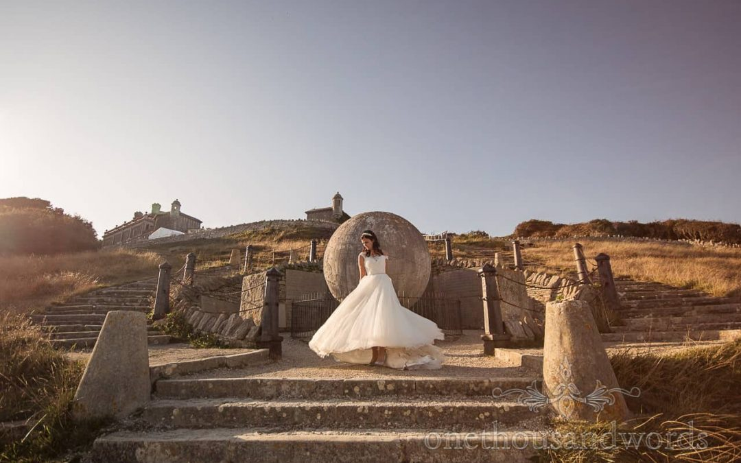 Anna & Sam's Purbeck Castle Wedding Photographs Review