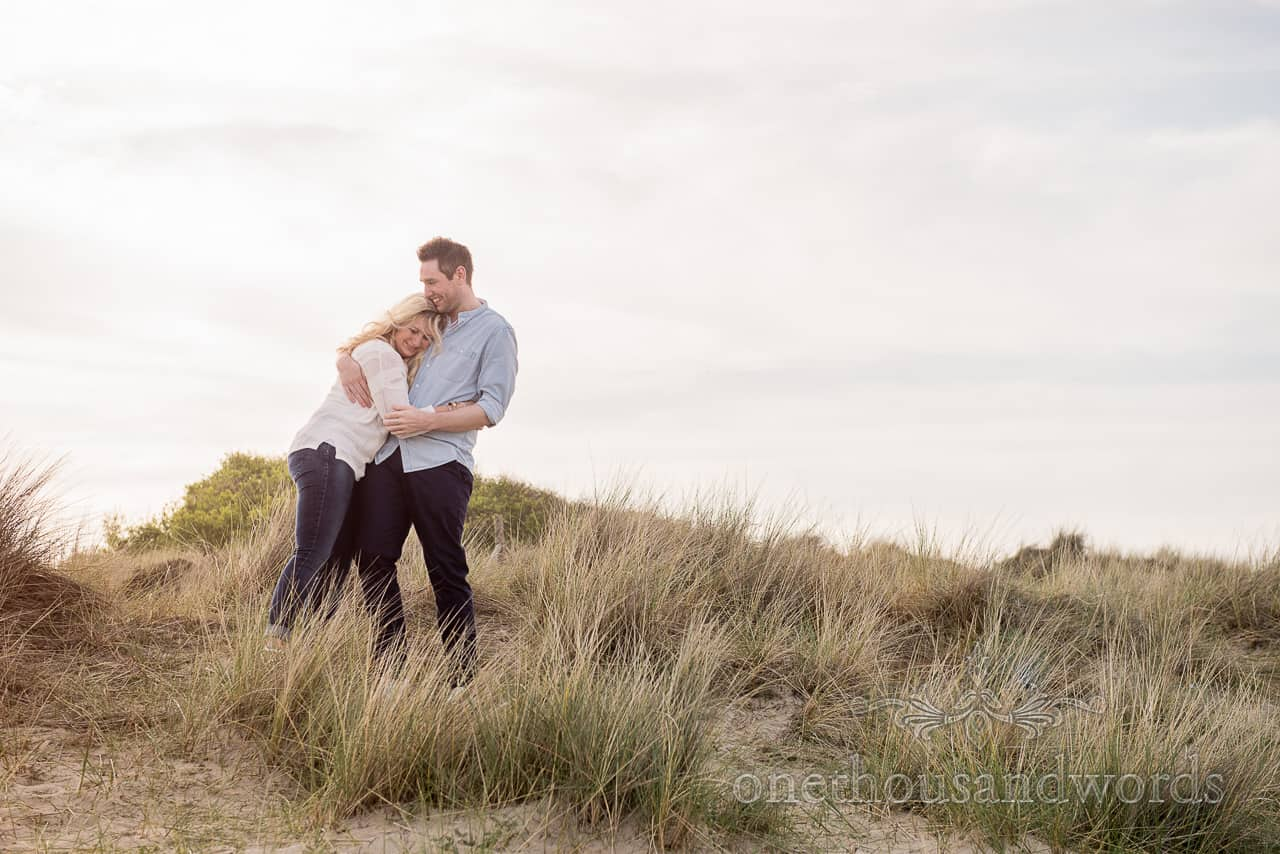 Sand dune location for top tips for engagement photographs