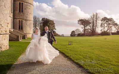 Lulworth Estate Wedding Photographs With Beth & Mark