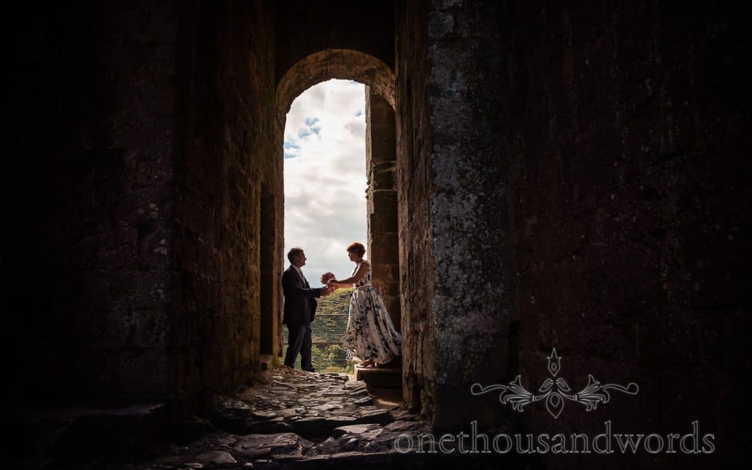 Corfe Castle Wedding Photographs with Dan & Agnieszka