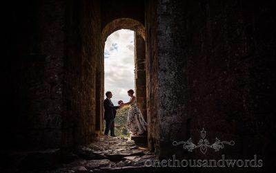 Corfe Castle Wedding Photographs with Dan & Agnieszka