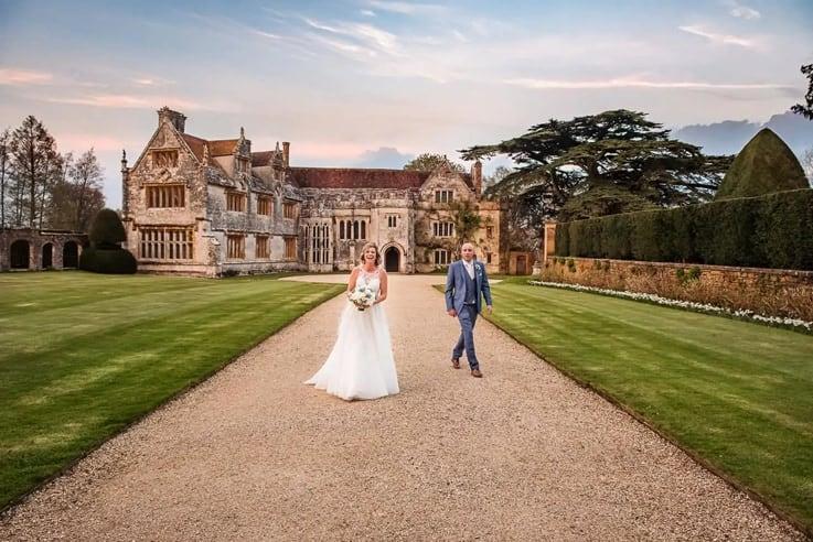 Athelhampton House wedding