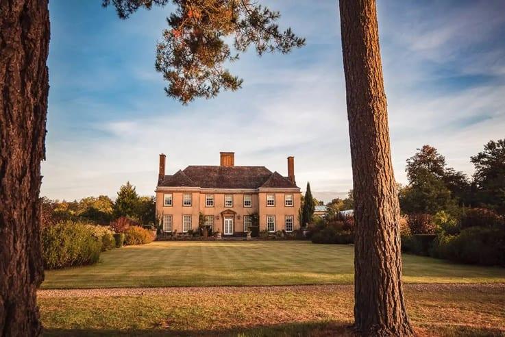 Hethfelton House countryside stately home