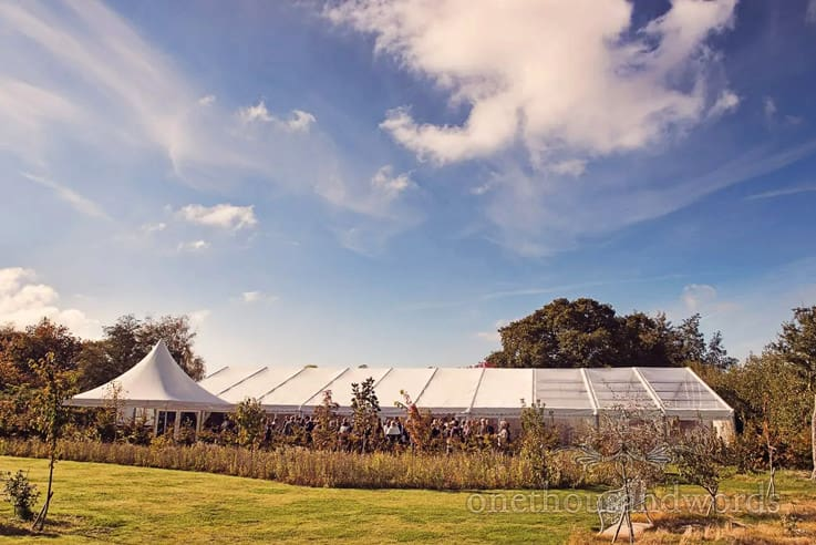 Holme For Gardens Marquee