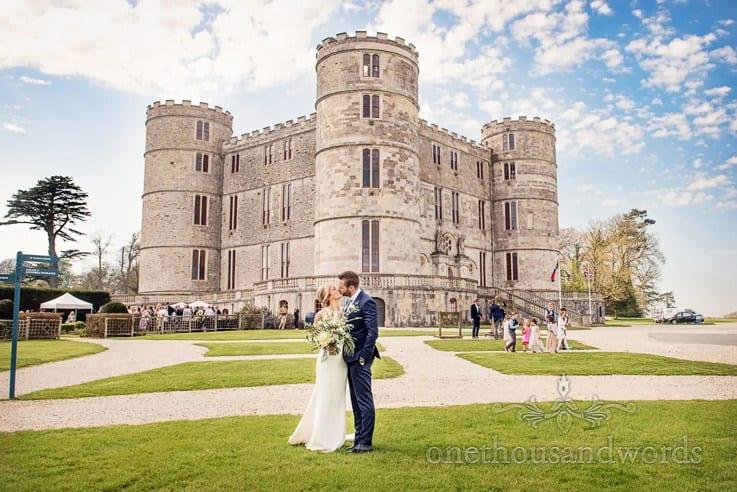 Lulworth Castle Wedding Venue In Dorset
