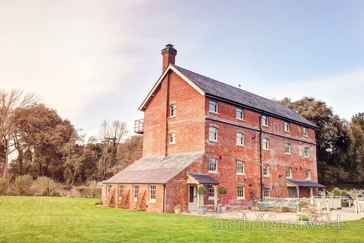 Sopley Mill Wedding Venue in Dorset