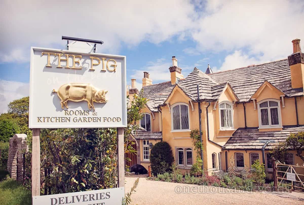 The Pig On The Beach Luxury Dorset Wedding Venue