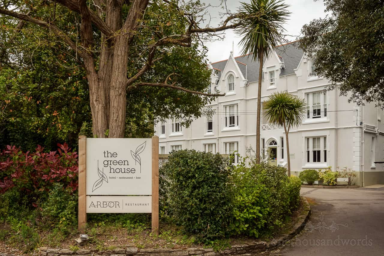 The Green House Hotel wedding venue in Bournemouth photo by one thousand words wedding photographers