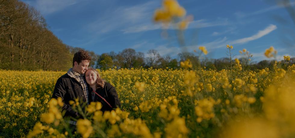 Dorset engagement photography couple photos