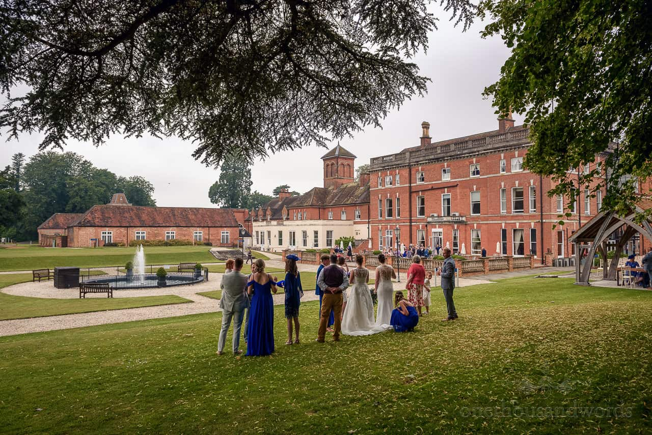 Oakley Hall wedding venue photographs
