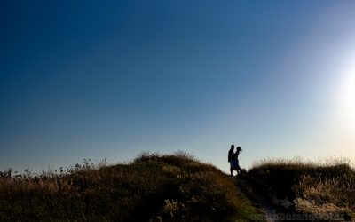 Proposal Photographs In Swanage, Dorset With Tom & Leanne
