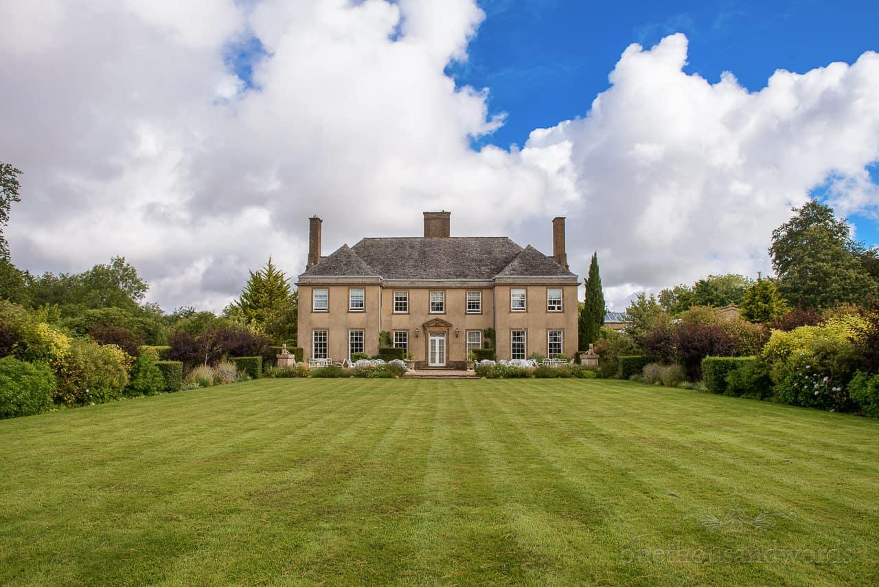 Wedding at Hethfelton House venue in the Dorset countryside